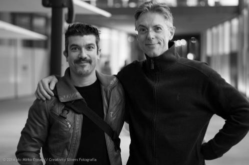 Con Mirko Ennas, l'autore di tutte le foto, tranne questa.